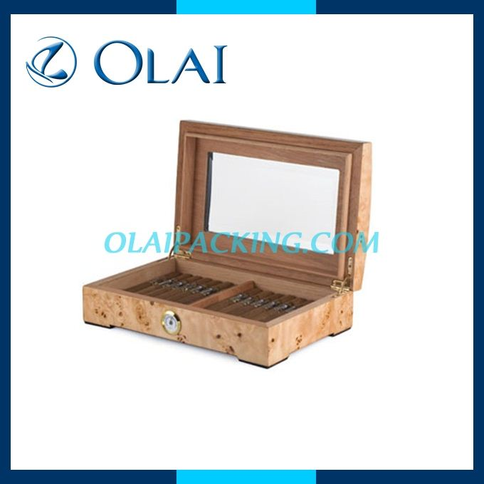Elegant Wood Humidors,Wooden Cigar Holder