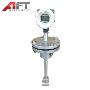 durable in use insertion type nitrogen gas vortex flow meter