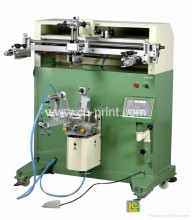 rotary screen printing machine with micro registration