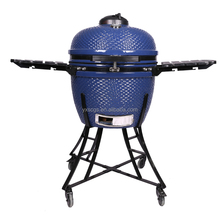 "24"" Outdoor And Indoor Ceramic Kamado Smoker Ceramic Charcoal BBQ Grilling"