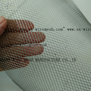 Bright surface Stainless Steel Expanded Metal Wire Mesh For Air Filter