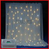 HOT WLK-3W White fireproof Velvet cloth White leds curtain backdrop portable stage curtain backdrop