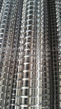 Stainless steel wire wound cores/wood filter/structure support pipe for filtration