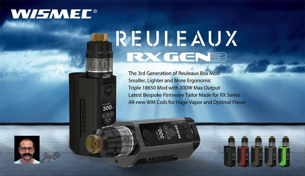 Amazing Newest Wismec RX GEN 300W rx gen3 kit RX GEN3 with Gnome Kit