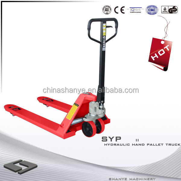 2500kg Good quality Hand Carry Pallet jack manual lifting jacks