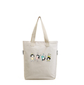 Promotional high quality low price OEM custom printed tote bag