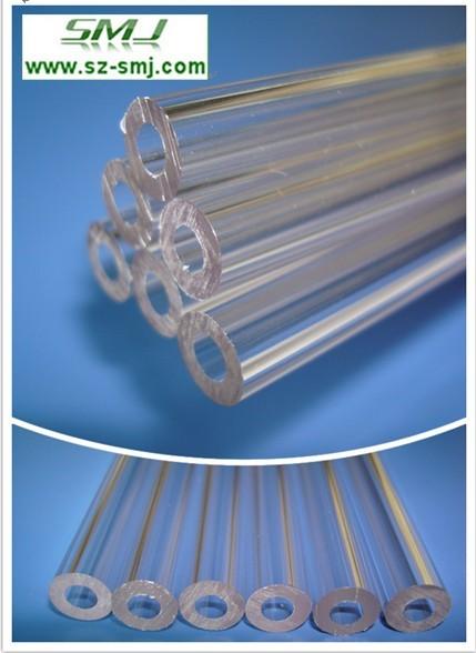 chiaro tubo rigido di estrusione di plastica dura tubo di