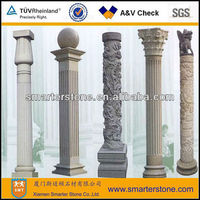 Stone Decorative Outdoor Pillar