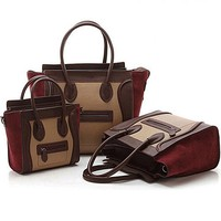 GL550 hotselling in south america famous leather shopping bag