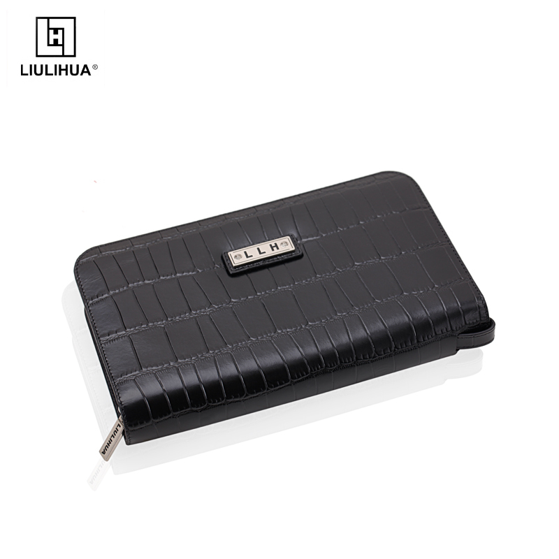 hot selling crocodile leather clutch bags oversized clutch bag with pen holder/sincerely invite overseas agents and distributers