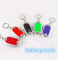 led oval keyring glowing for sovenier gift