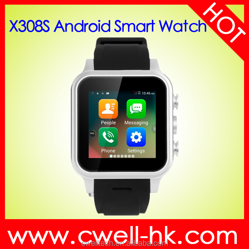 2017 New products china manufacturer whatsapp android 5.1 smart watch phone