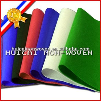 Manufacturer Needle Punched 100% Polyester Non-woven Fabric/Cloth/Felt