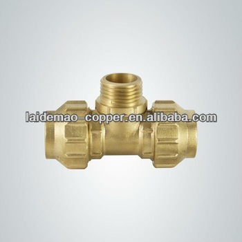 LDM-BF101 For PE pipe Brass Compression <strong>fitting</strong> with brass colour