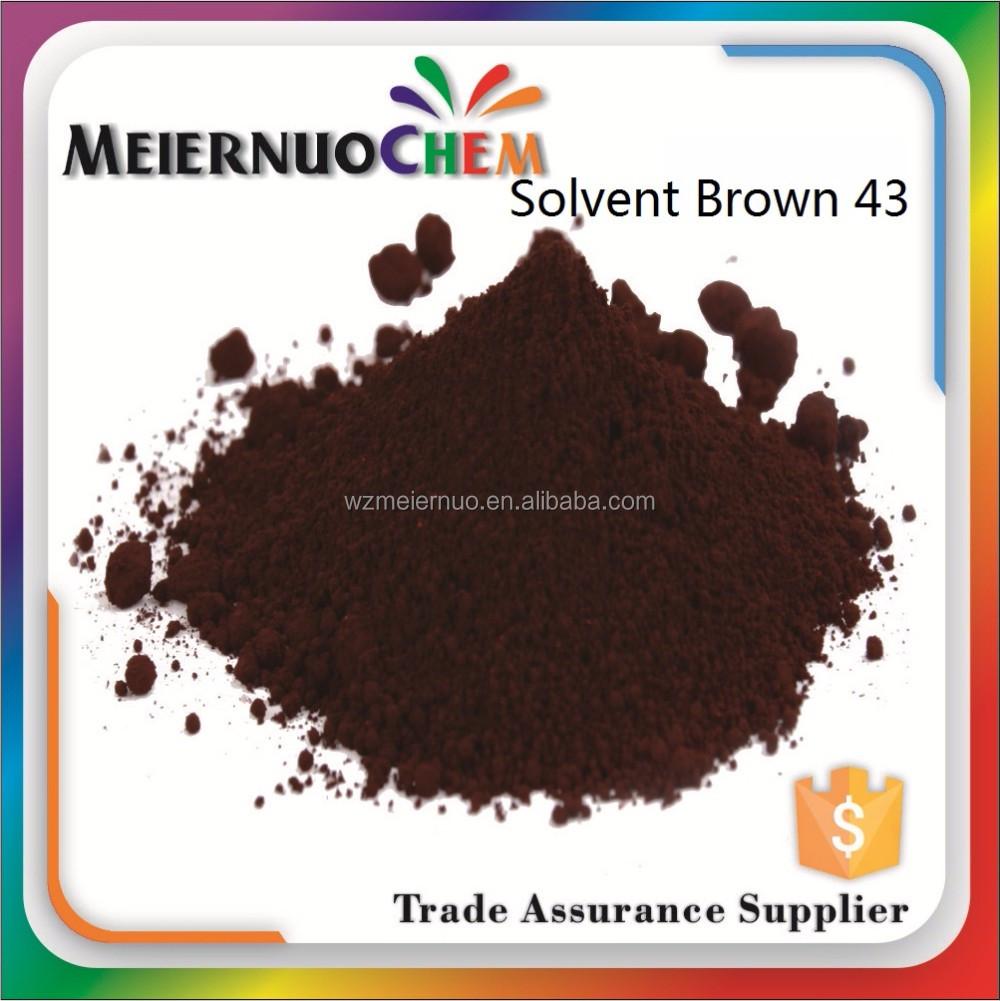 hot selling Solvent brown 43 shoe polish dye chemicals