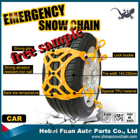 fashion design Tire chains for Car and Truck With TUV/GS plastic plastic snow chain