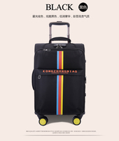 Candy color china made nylon luggage case/protective cover luggage/soft cloth travel suitcase bag