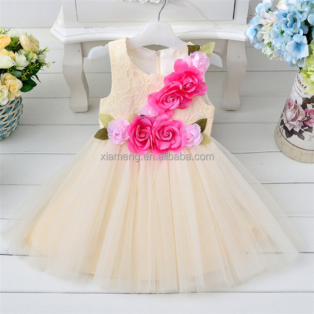 Fashion korean style sleevess latest dress designs for bridesmaid
