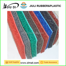 anti fatigue foam backing PVC coil mat