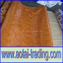 pvc wood pattern vinyl floor 0.35-0.7mm