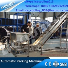 Commercial Tube Ice Making Machine with Ice Packing Machine