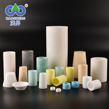 Factory Custom sintered porous plastic filter for water gas