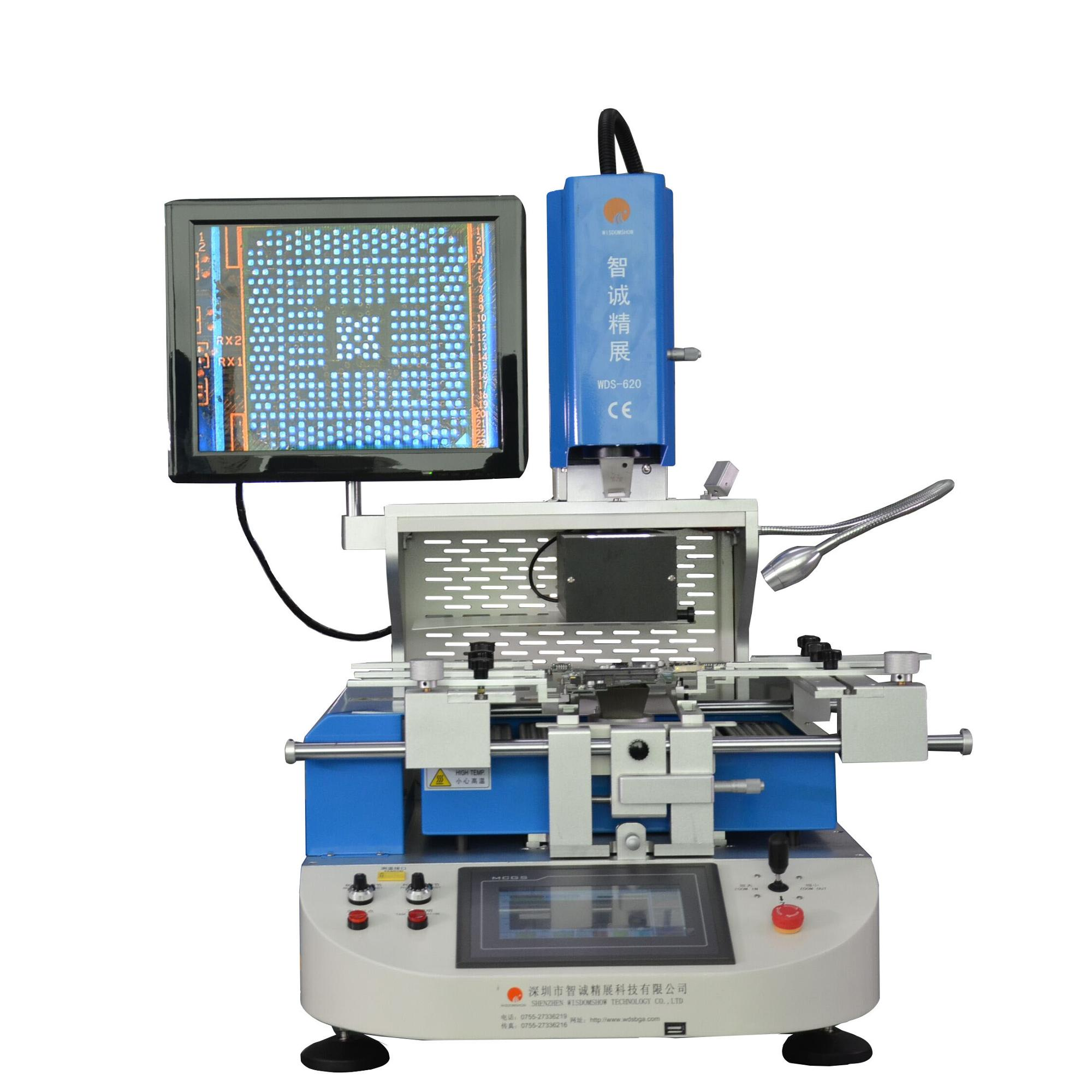 WDS-620 bga soldering machine for ball ic reballing for Iphone/ Samsung Nand, <strong>U2</strong> ic chip repair