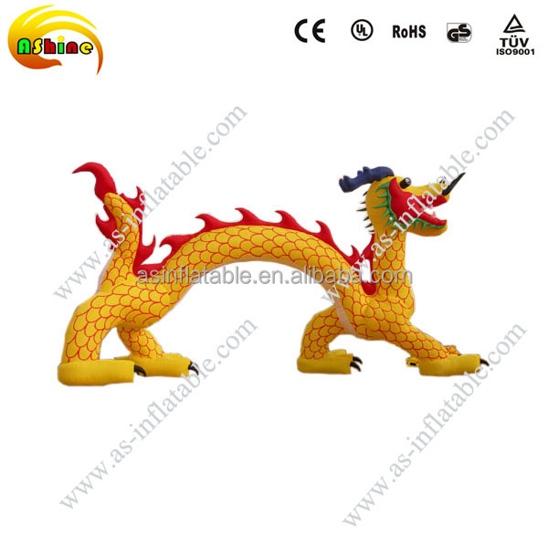 Advertising inflatable dragon arch inflatable dragon model
