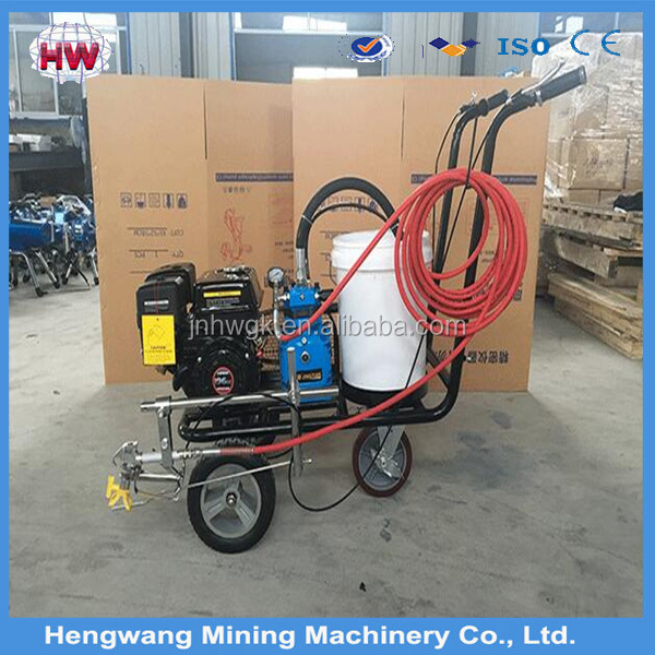 Asphalt Road Marking Removal Machine/Pavement Cleaning Equipment
