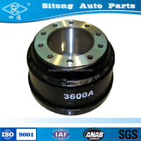 Heavy Duty Truck Bus Trailer Semi Trailer Brake Drums 3600a