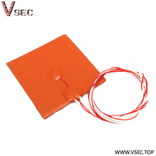 Good quality electric heating mat 210 silicone heater for fuel line