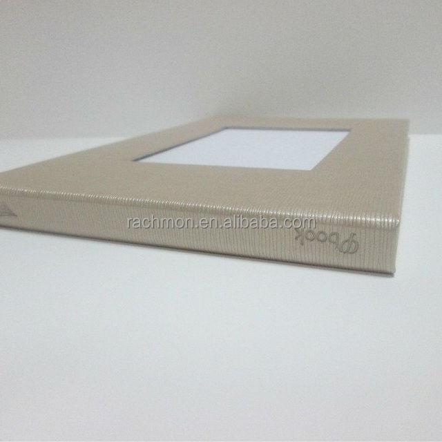 custom printing A5 video brochure / video book / video mailer