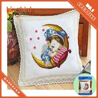 Hot sale baby sleeping hand embroidery cross stitch thread