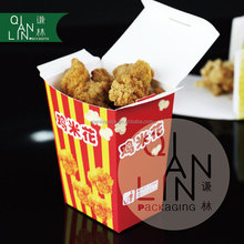 Wholesale White cardboard Snack box