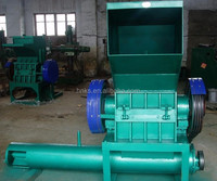Waste plastic washing and crushing machine, dewater machine