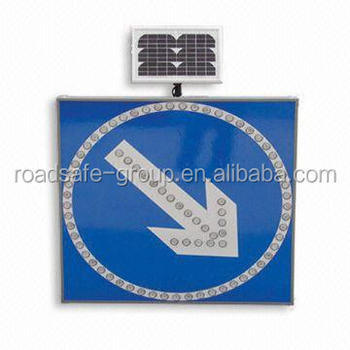 Road Bright led solar traffic sign solar energy solar led traffic signal lamp