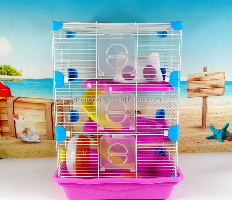 Beautiful pet cages, small animals application, carrier and house type hamster house