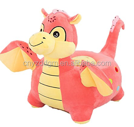 wholesale popular filling plush animal Chair / indoor arm chair bean bag for children