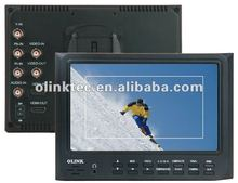 Olink on camera field monitor, 7 inch high brightness LCD, HDMI, YPbPr
