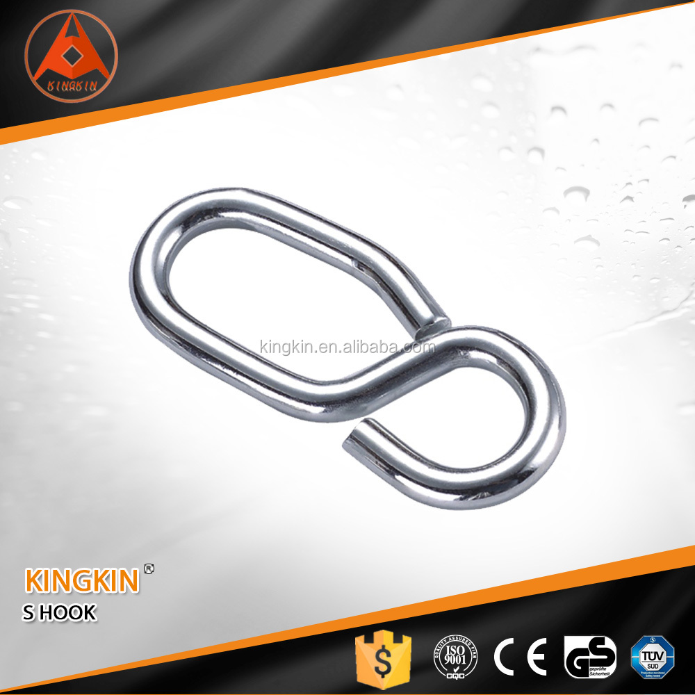 manufacturer price 8 shaped hook snap hook without tongue stainless steel snap hook