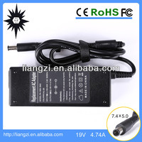 for hp power adapter 90w 19v 4.74a laptop used