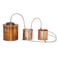 Distiller Factory For making Pot Still Alcohol Moonshine Copper Distiller
