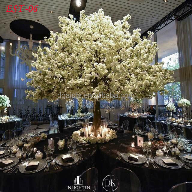 14ft tall new design artificial cherry blossom tree custom available centerpiece cherry orchid tree EST-06