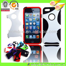 Hybrid Rubber Rugged Combo Matte Soft Cases Hard Cover For Apple iPhone 5 5S