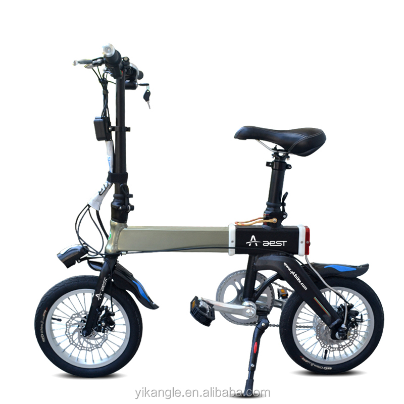 36v 250w aest portable electric bicycle