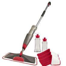 Water Spray Mop With Microfibre Cloth Floor Tiles Sweeper Cleaner New