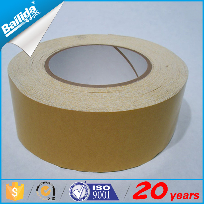 china supplier rubber cloth velcro double sided carpet seaming tape