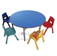 Hot Sale SF-11K4 Child or Kids Colorful Study Table and Chair from Guangzhou