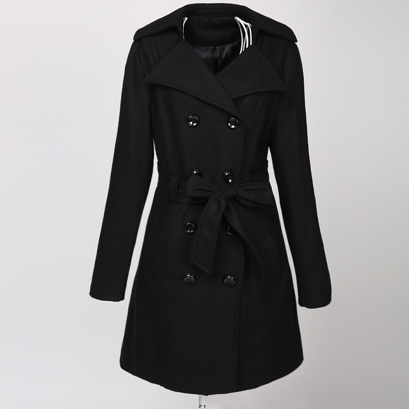 manufacturer supplier blazer steampunk clothing goth coat wool metal women China small quantity OEM label dropship