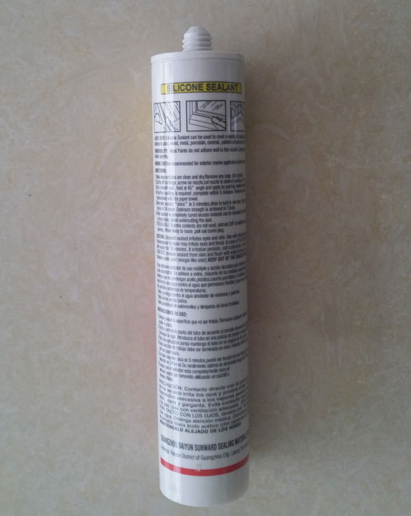 DR630 Silicone Sealant for Stone Tile Marble Concrete Joints